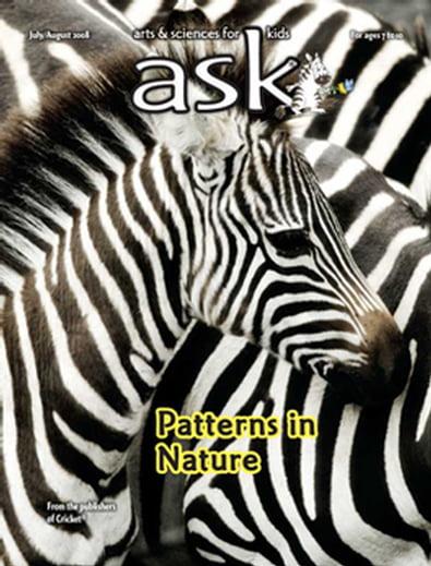 Ask (USA) magazine cover