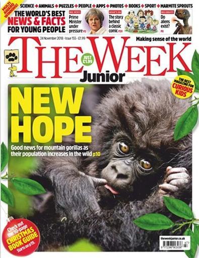 The Week Junior (UK) magazine cover