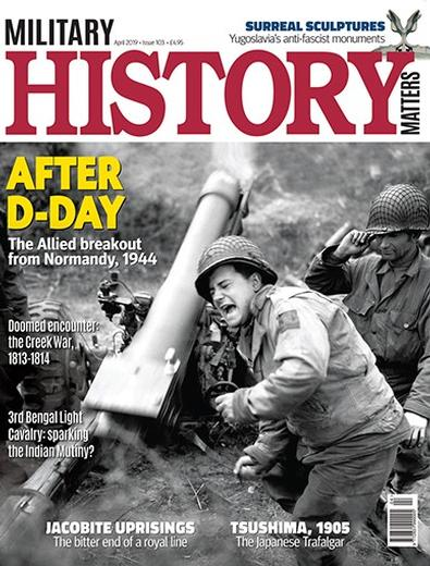 Military History Matters (UK) magazine cover