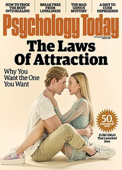 Psychology Today (USA) magazine cover