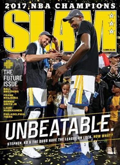 Slam (USA) magazine cover