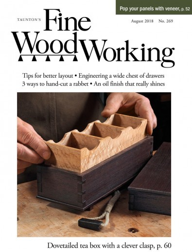 Fine Woodworking (USA) magazine cover