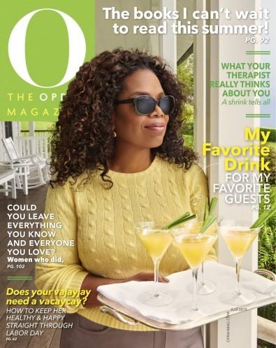 O The Oprah Magazine (USA) cover