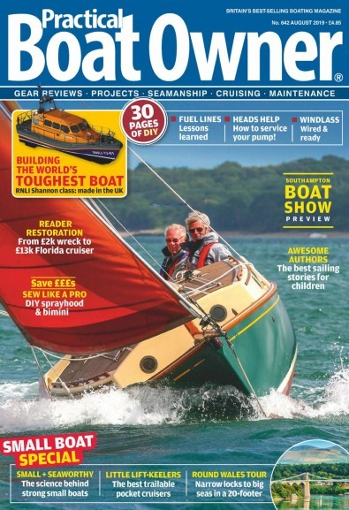 Practical Boat Owner (UK) magazine cover
