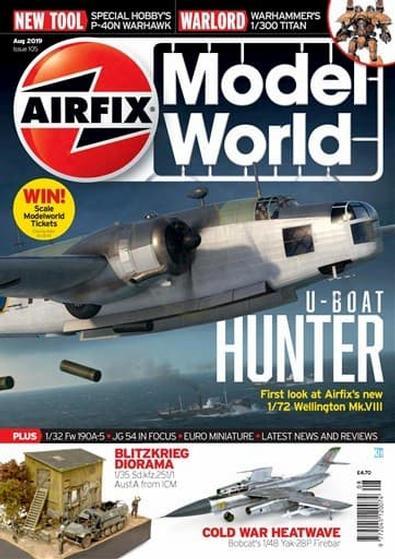 Airfix Model World (UK) magazine cover