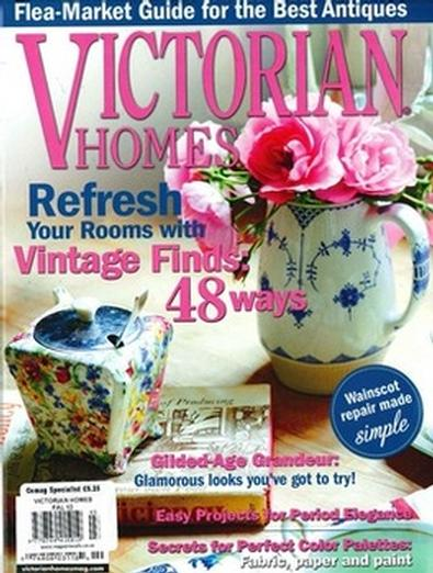 Victorian Homes (USA) magazine cover