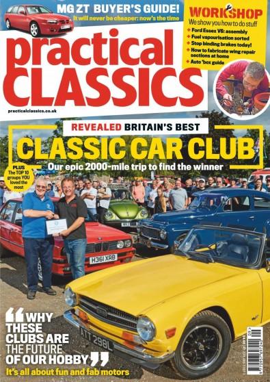 Practical Classics (UK) magazine cover