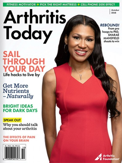 Arthritis Today (USA) magazine cover