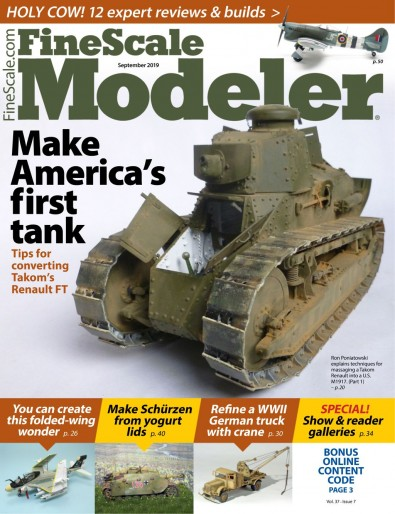 FineScale Modeler (USA) magazine cover