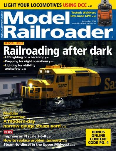 Model Railroader (USA) magazine cover