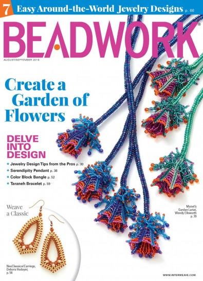 Beadwork (UK) magazine cover