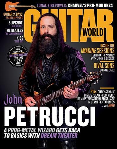 Guitar World (USA) magazine cover