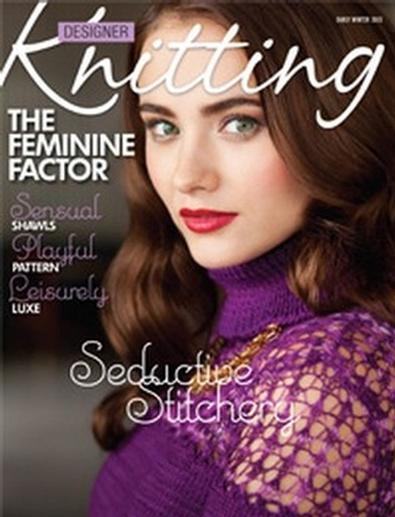 Designer Knitting (USA) magazine cover