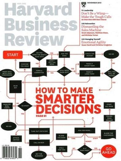 Harvard Business Review (USA) magazine cover