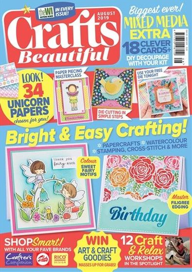 Crafts Beautiful (UK) magazine cover