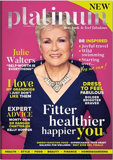 Platinum (UK) magazine cover