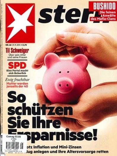 Stern (GER) magazine cover