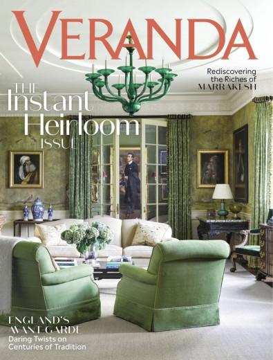 Veranda (USA) magazine cover