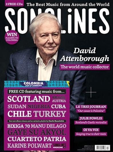 Songlines (UK) magazine cover