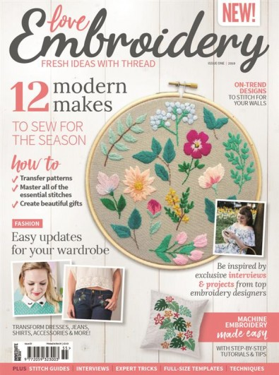 Love Embroidery (UK) magazine cover