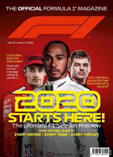 The Official Formula 1 Magazine (UK) cover