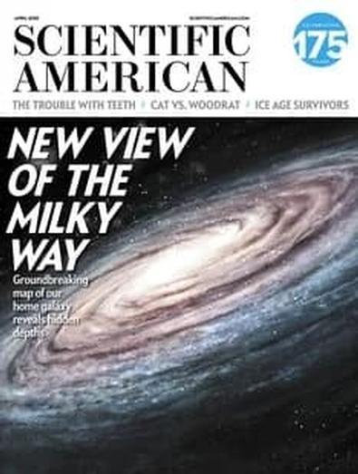 Scientific American (USA) magazine cover