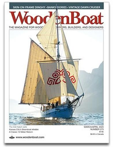 Wooden Boat (USA) magazine cover