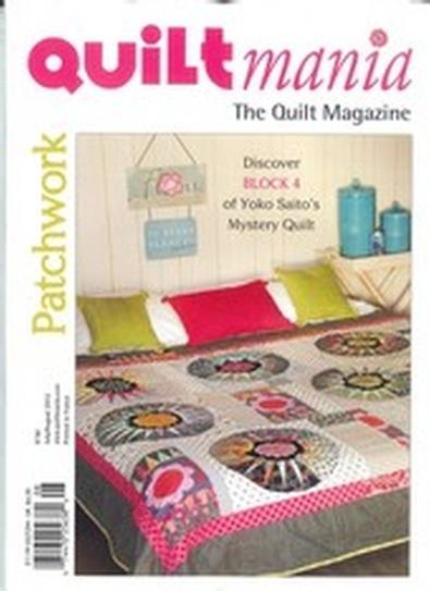 Quilt Mania (FR) magazine cover