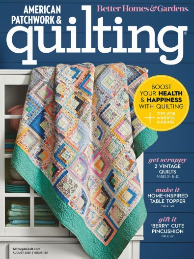 American Patchwork and Quilting (USA) magazine cover