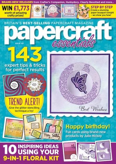 Papercraft Essentials (UK) magazine cover