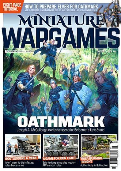 Miniature Wargames (UK) magazine cover