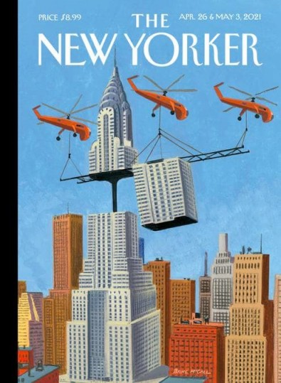 The New Yorker (USA) magazine cover