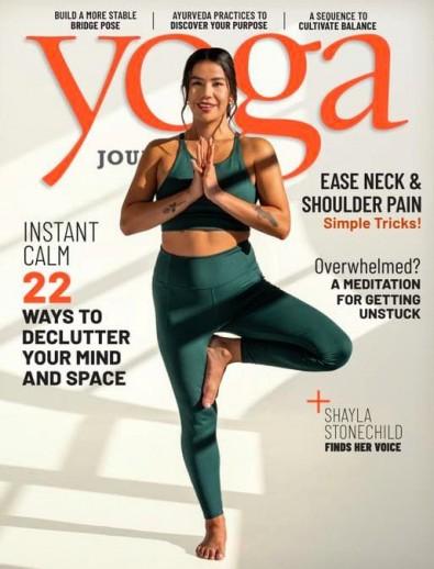 Yoga Journal (USA) magazine cover