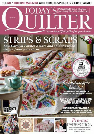 Today's Quilter (UK) magazine cover