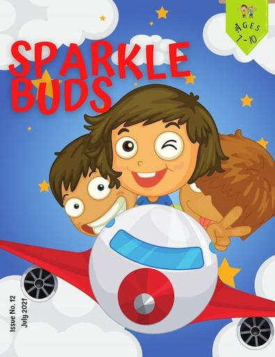 Sparkle Buds magazine cover