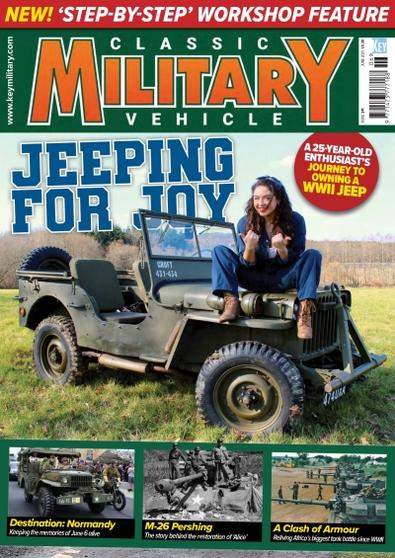 Classic Military Vehicle (UK) magazine cover
