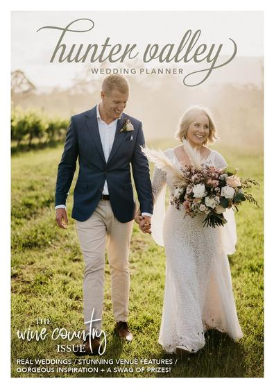 Hunter Valley Wedding Planner Magazine Issue 21 cover