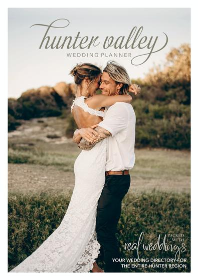 Hunter Valley Wedding Planner Magazine - Issue 22 cover