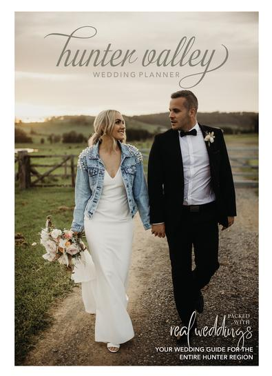 Hunter Valley Wedding Planner Magazine - Issue 23 cover