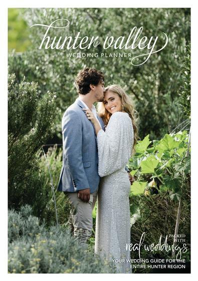 Hunter Valley Wedding Planner Magazine - Issue 24 cover