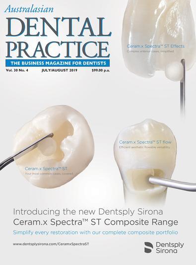 Australasian Dental Practice magazine cover