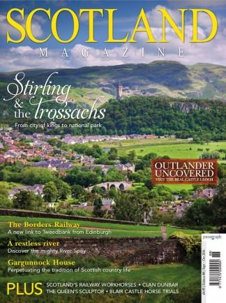 Scotland Magazine (UK) cover