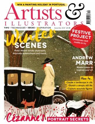 Artists & Illustrators (UK) magazine cover