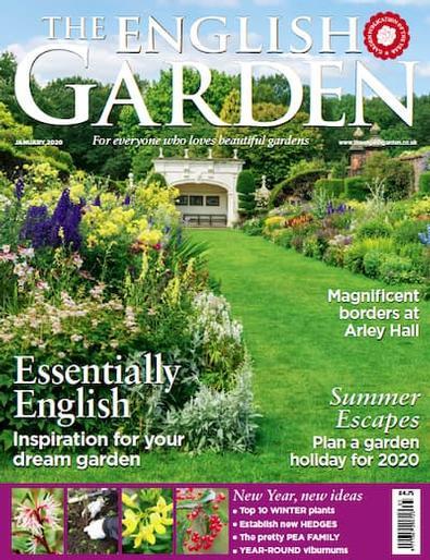 The English Garden (UK) magazine cover