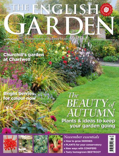 The English Garden (UK) magazine cover