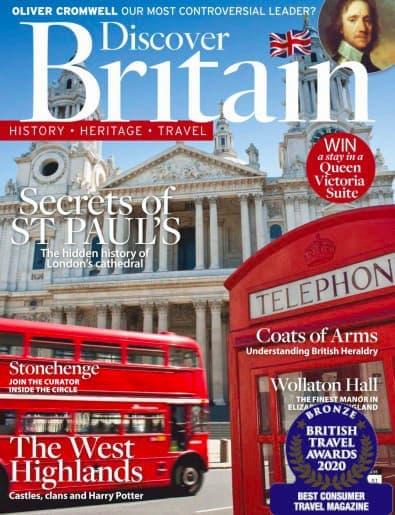 Discover Britain magazine cover