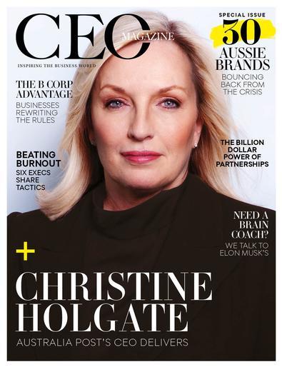 The CEO Magazine cover