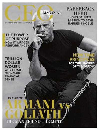 The CEO Magazine cover