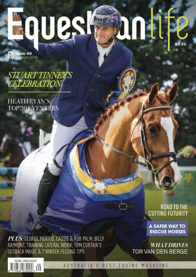 Equestrian Life magazine cover