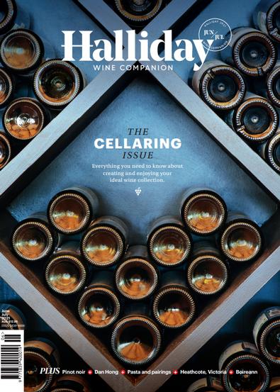 Halliday Wine Companion magazine cover